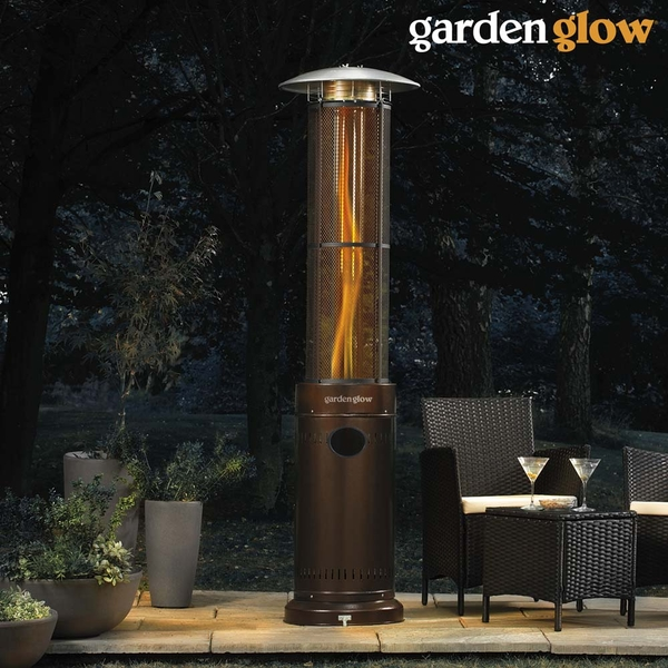Glow 15kw Circle Flame Gas Patio Heater